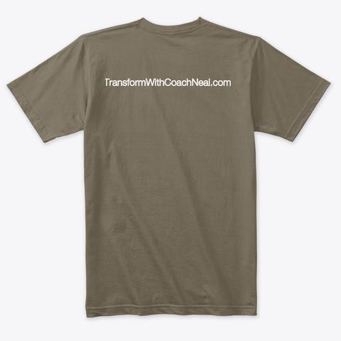 Holistic Coach Neal Venetian Gray T-Shirt Back