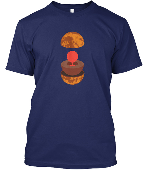 Layers Venus V [Usa] #Sfsf Midnight Navy T-Shirt Front