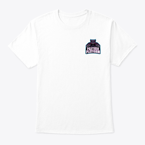 Panther By Definition White T-Shirt Front