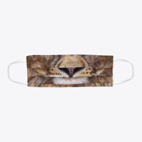 Lion Face Mask Standard T-Shirt Flat