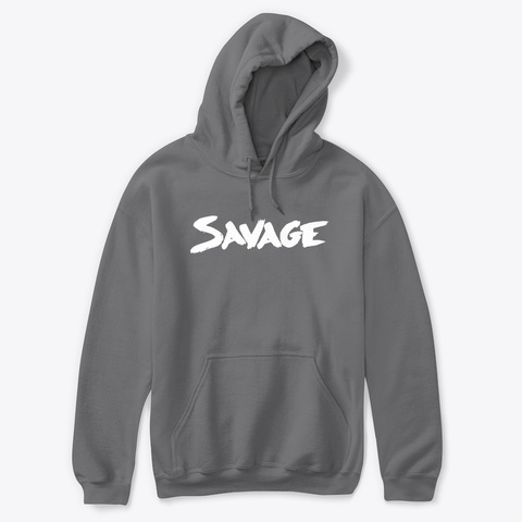 Savage Stock Apparel Dark Heather T-Shirt Front