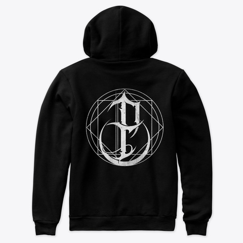 I, Pariah Logo Hoodie Black T-Shirt Back