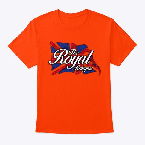 The Royal Rangers Orange T-Shirt Front