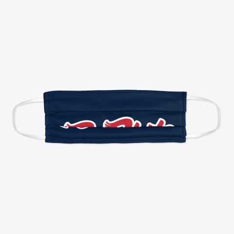R Phils Navy Facemask Standard T-Shirt Flat