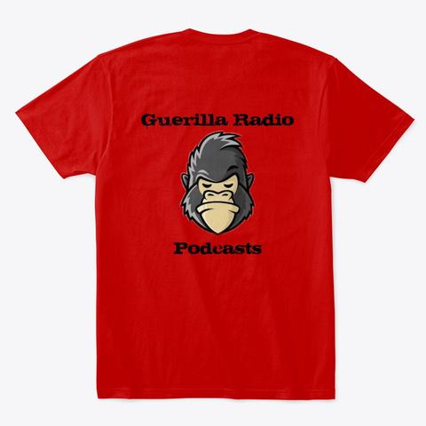 Guerilla Radio   Pervert Tee Classic Red T-Shirt Back