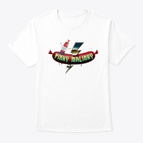 Pinky Malinky Shirts White T-Shirt Front