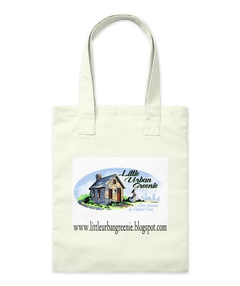 Www.Littleurbangreenie.Blogspot.Com Natural Tote Bag Front