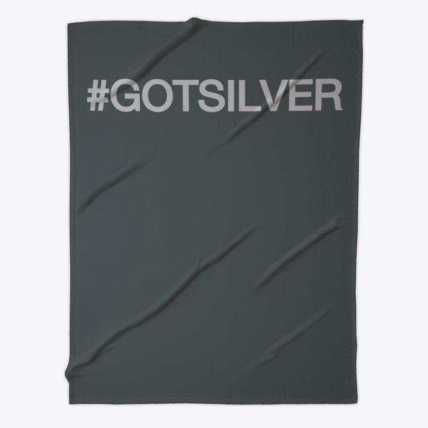 Got Silver Fleece Blanket