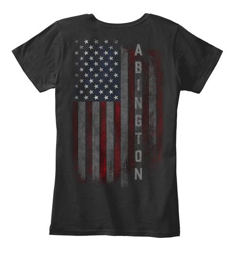 ABINGTON FAMILY AMERICAN FLAG Hoodie Tshirt