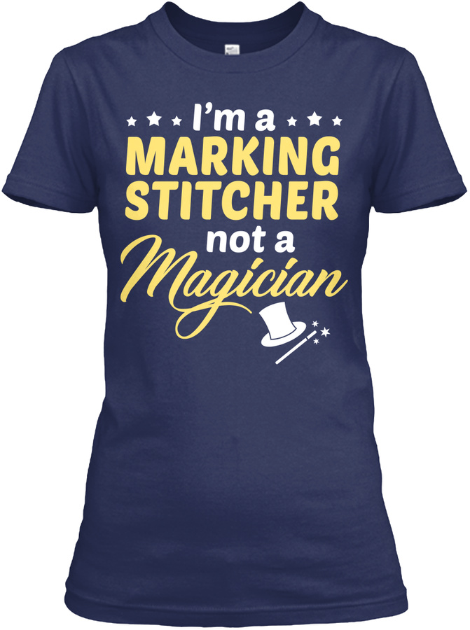 Marking Stitcher - Not Magician LongSleeve Tee