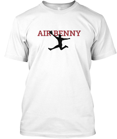 Air Benny White T-Shirt Front