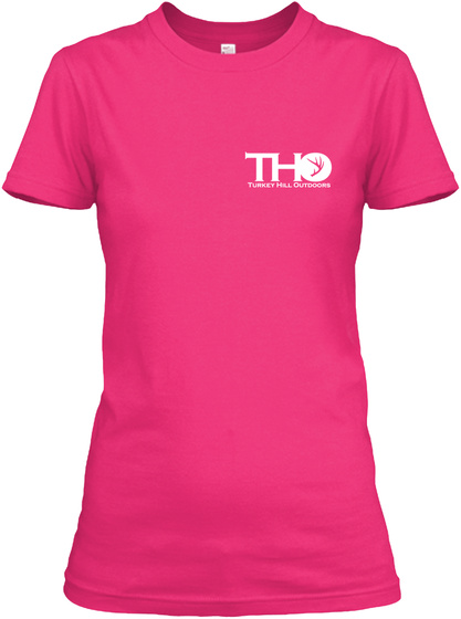 Tho Tuhkey Hll Outdoors Heliconia T-Shirt Front
