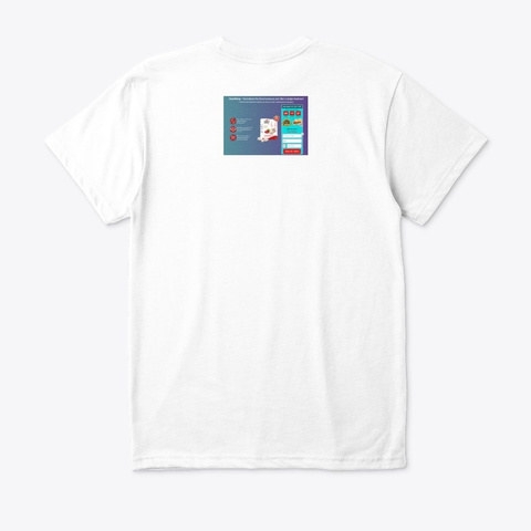 Heart Keep Philippines White T-Shirt Back