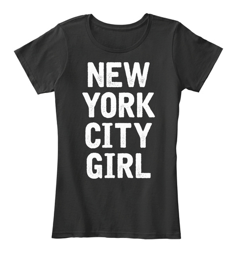 New York City Girl Shirt Black Women s T-Shirt Front 0b33f34a358