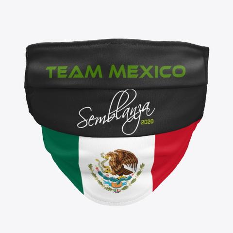 Team Mexico Black T-Shirt Front