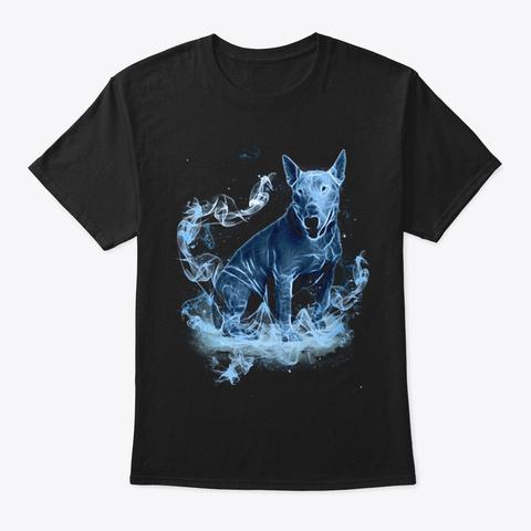 Bull Terrier M Gic Black T-Shirt Front