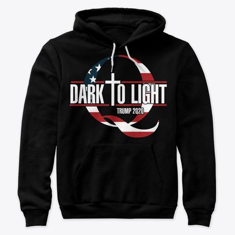 B2 T   Dark To Light Black T-Shirt Front