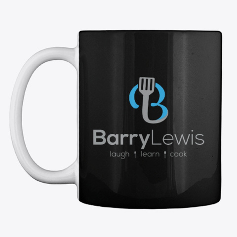 Barry Logo Mug Black T-Shirt Front