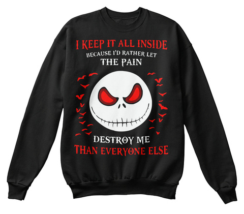 best ugly christmas sweater 2018 ever black sweatshirt front - Best Ugly Christmas Sweaters Ever