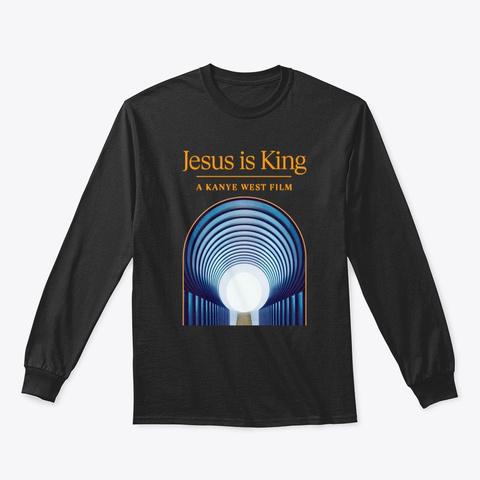 Jesus Is King Shirts Black T-Shirt Front