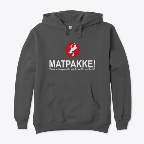 Matpakkke   Different Products Charcoal T-Shirt Front