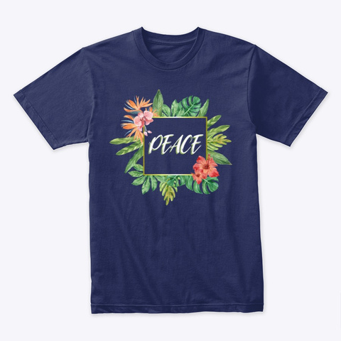 Image Not Opening Midnight Navy T-Shirt Front