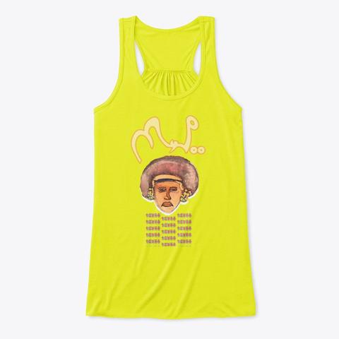 Tiyaa Neon Yellow T-Shirt Front