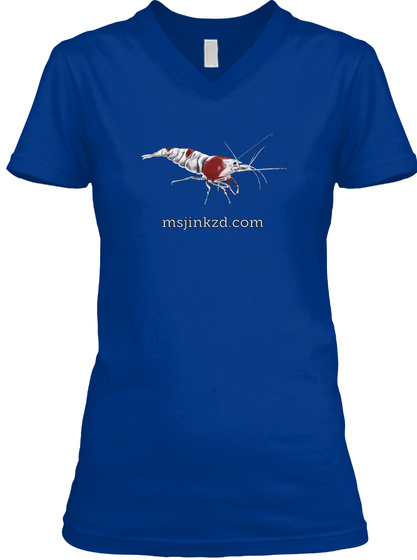 Msjinkzd.Com True Royal T-Shirt Front