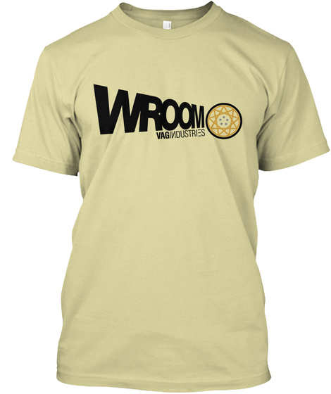 Wroom Vag Industries Sand T-Shirt Front