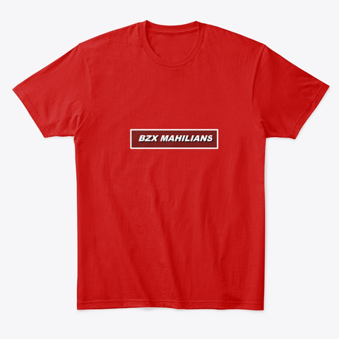 Bzx Mahilians  Classic Red T-Shirt Front