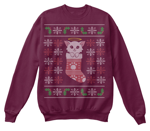 Quitan   Charity Holiday Edition Maroon  Felpa Front