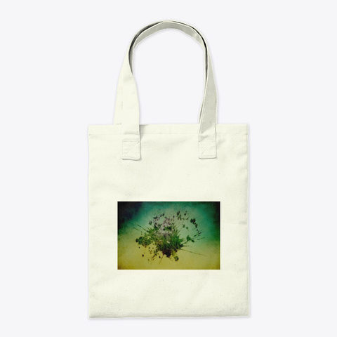 Bag Natural Tote Bag Back
