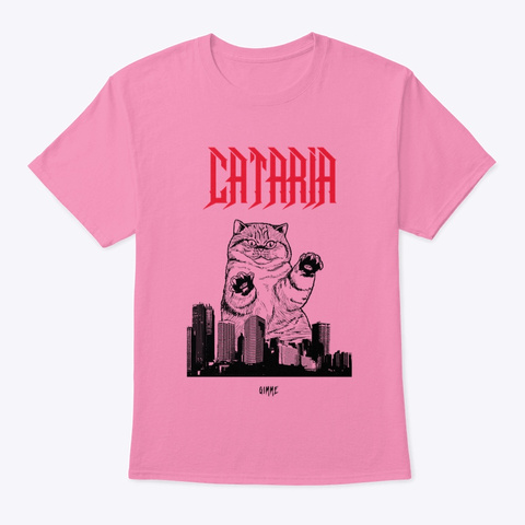 Cataria   Gimme Pink T-Shirt Front