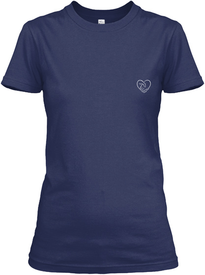 Caregiver  Limited Edition Navy T-Shirt Front