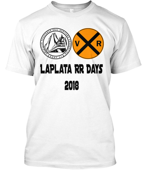 Laplata Rr Days 2018 White T-Shirt Front
