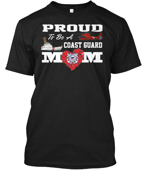 Proud To Be A Cg Mom Black T-Shirt Front