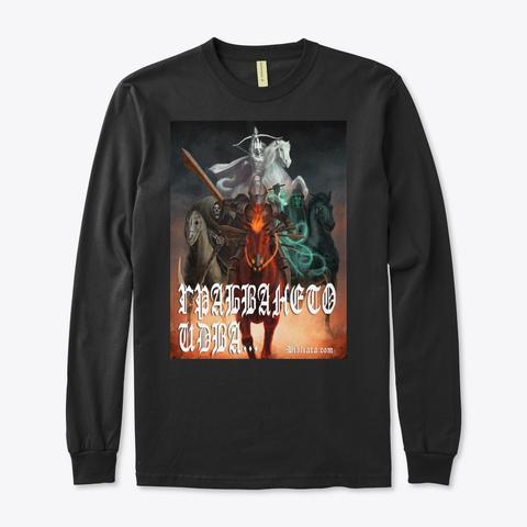 ГРАБВАНЕТО ИДВА Black T-Shirt Front