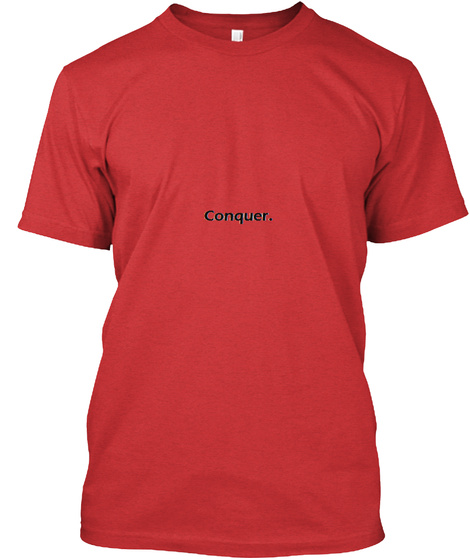Winning Male Tee Red T-Shirt Front