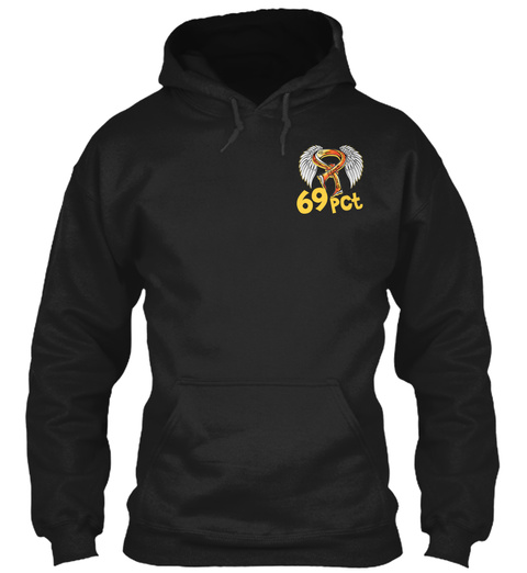 69 Pct Black Sweatshirt Front