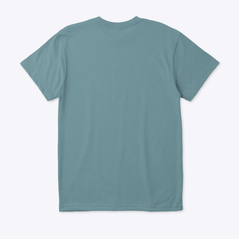 Forged T Shirt  Heather Pacific T-Shirt Back