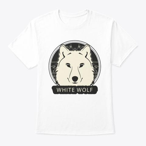 Wolf White Wolf White T-Shirt Front
