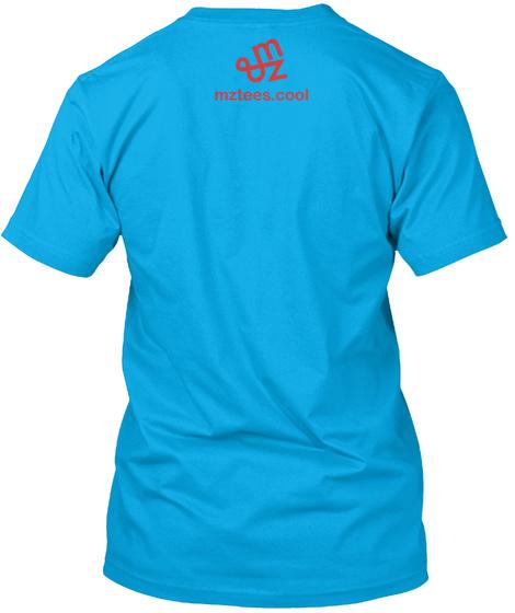 Ice Cream Guys Turquoise T-Shirt Back