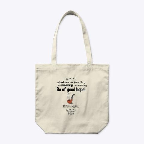 Be Of Good Hope! Natural T-Shirt Front