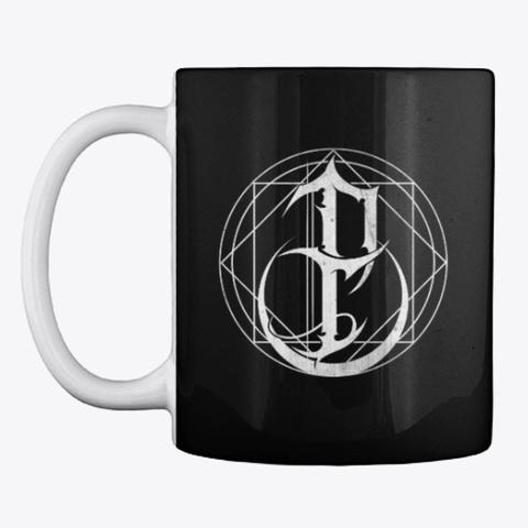 Emblem Mug Black T-Shirt Front