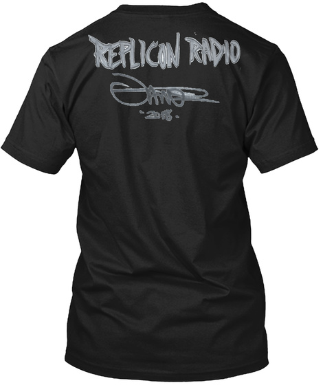 Jamie Madrox X Replicon Radio Limited Black T-Shirt Back