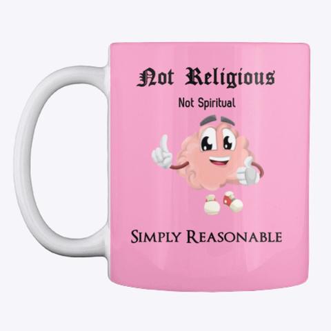 Simply Reasonable Mug Pink Camo T-Shirt Front