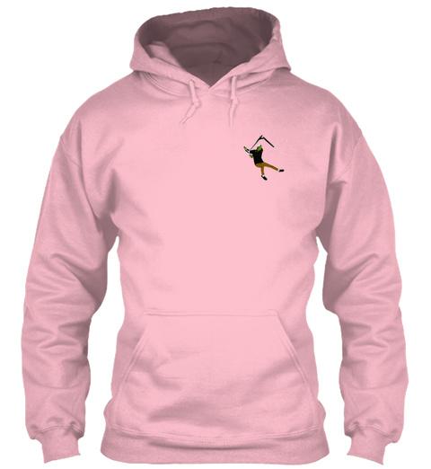 "Ozar Sweaty ""Pinky"" Baby Pink Sweatshirt Front"