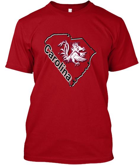 Carolina Deep Red T-Shirt Front