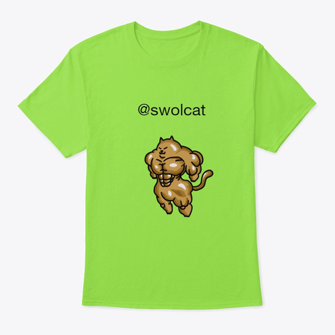 Original Design Lime T-Shirt Front