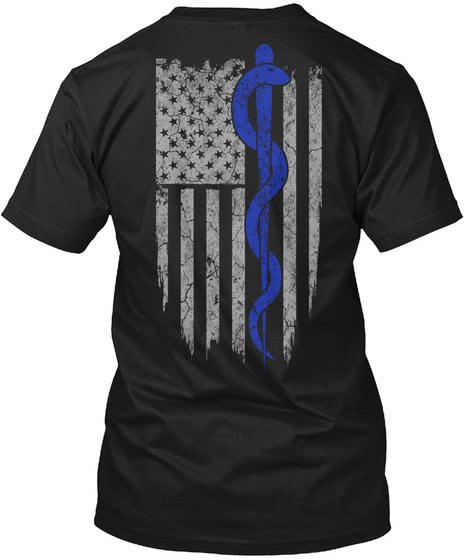 Limited Edition   Emt/Paramedic Black T-Shirt Back